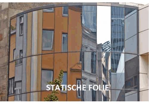 Silver 80  STATISCHE FOLIE (zonwering 80%)