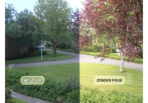 ZONWERENDE VEILIGHEIDS- FOLIE SILVER 80. Dikte 4 mil.